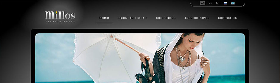 Site for Millos Fashion House